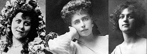 Loie Fuller, Queen Marie of Romania, Alma deBreckeville Spreckels